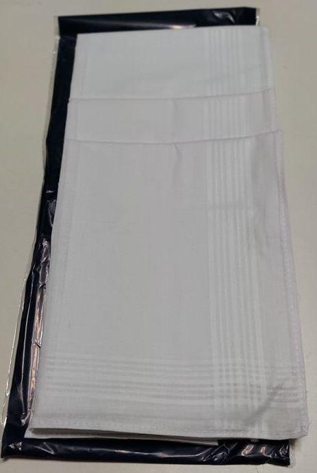 Férfi fehér zsebkendő